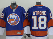 Mens reebok nhl new york islanders #18 strome blue Jersey