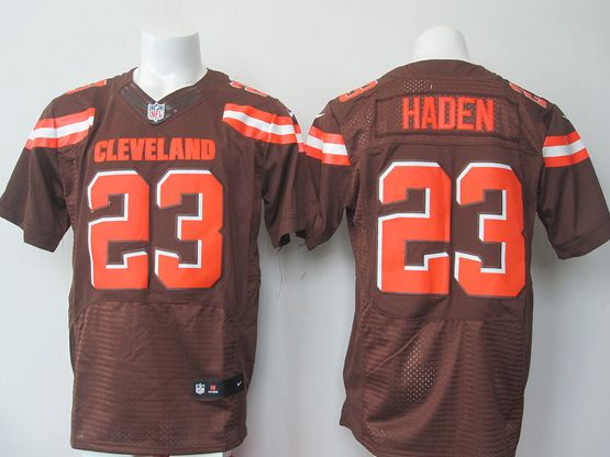 Mens Nfl Cleveland Browns #23 Haden Brown (2015 New) Elite Jersey