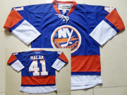 Mens reebok nhl new york islanders #41 halak blue Jersey