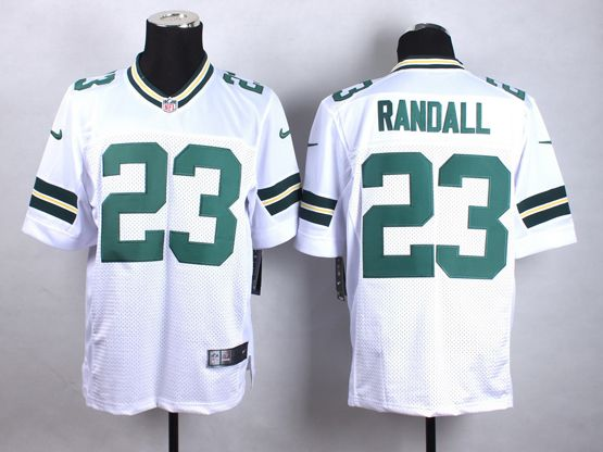 Mens Nfl Green Bay Packers #23 Randall White Elite Jersey