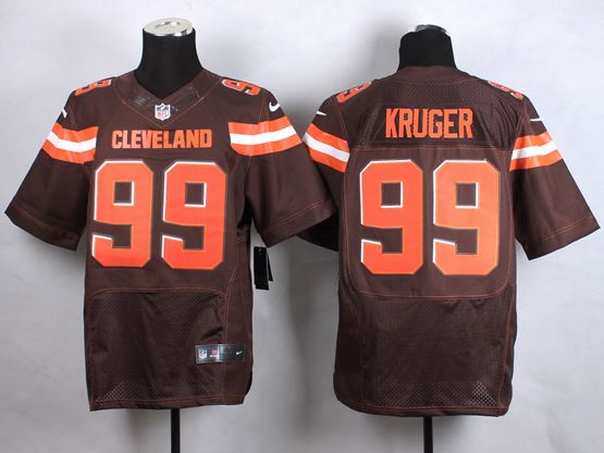 Mens Nfl Cleveland Browns #99 Kruger Brown (2015 New) Elite Jersey