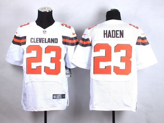 Mens Nfl Cleveland Browns #23 Haden White (2015 New) Elite Jersey