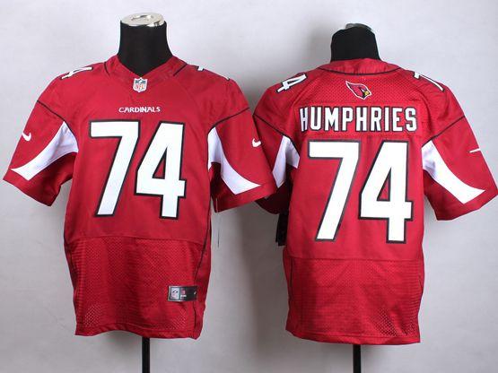 Mens Nfl Arizona Cardinals #74 D.j. Humphries Red Elite Jersey