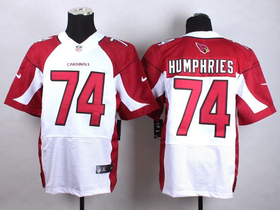 Mens Nfl Arizona Cardinals #74 D.j. Humphries White Elite Jersey