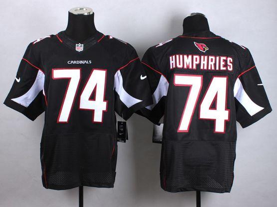 Mens Nfl Arizona Cardinals #74 D.j. Humphries Black Elite Jersey