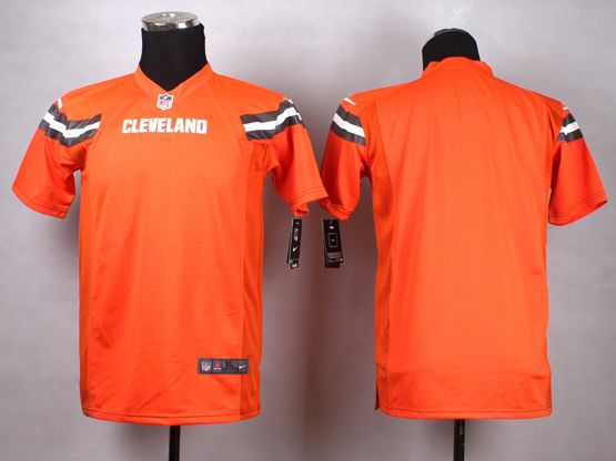 Mens Nfl Cleveland Browns (blank) Orange (2015 New) Game Jersey
