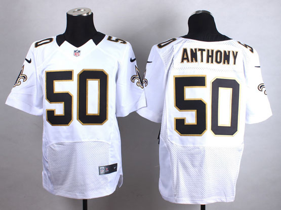 Mens Nfl New Orleans Saints #50 Anthony White Elite Jersey