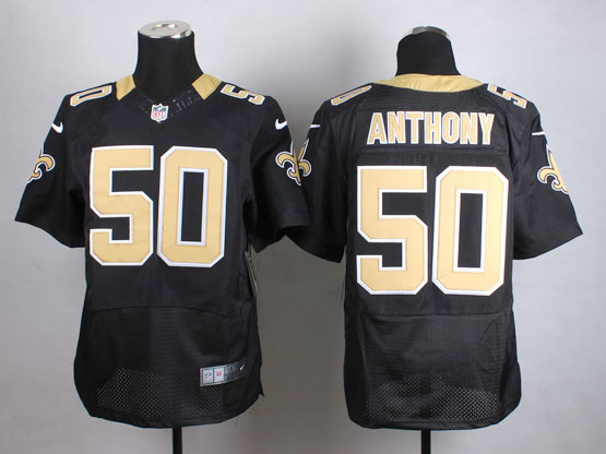 Mens Nfl New Orleans Saints #50 Anthony Black Elite Jersey