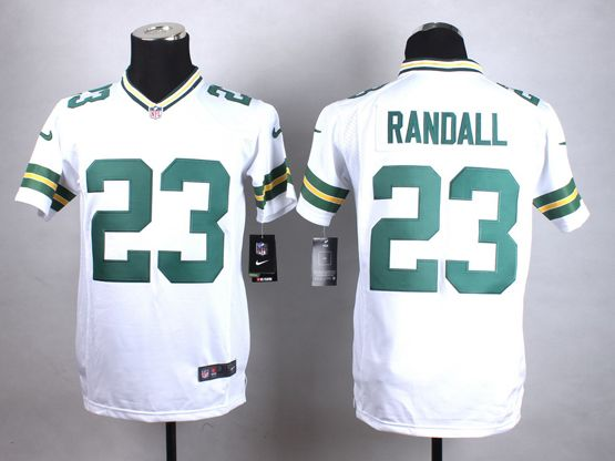 Mens Nfl Green Bay Packers #23 Randall White Game Jersey