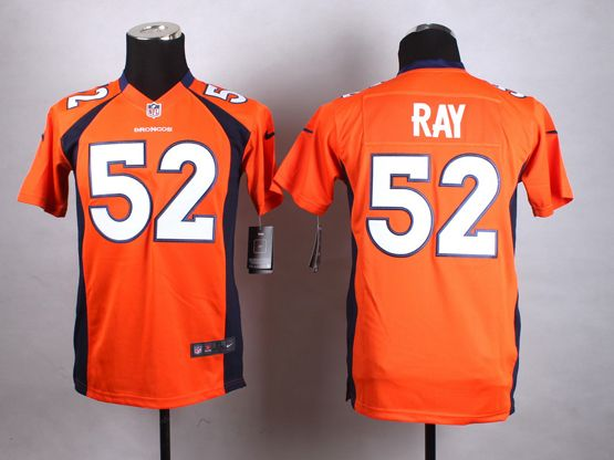 Mens Nfl Denver Broncos #52 Ray Orange Game Jersey