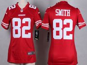 Mens Nfl San Francisco 49ers #82 Torrey Smith Red Game Jersey