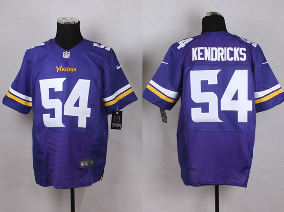 Mens Nfl Minnesota Vikings #54 Kendricks Purple Elite Jersey
