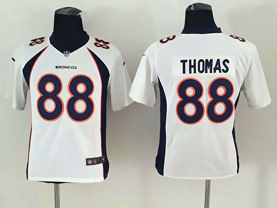 Youth Nfl Denver Broncos #88 Thomas White (2014 New) Limited Jersey