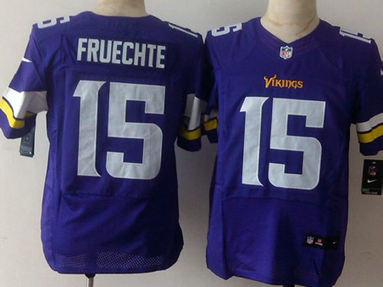Mens Nfl Minnesota Vikings #15 Colter Purple Elite Jersey Sn