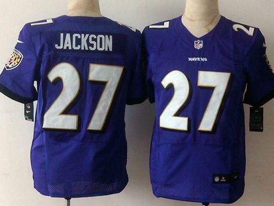 Mens Nfl Baltimore Ravens #27 Jackhon Pruple Elite Jersey Sn