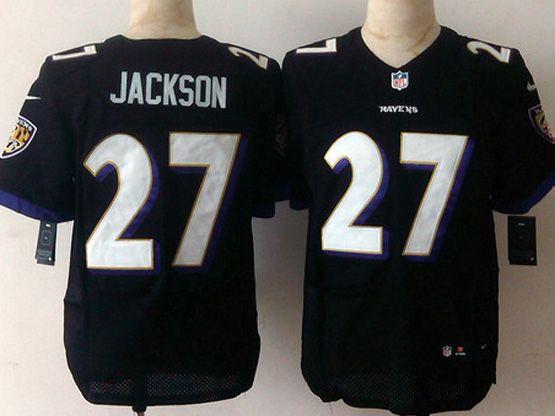 Mens Nfl Baltimore Ravens #27 Jackhon Blue Elite Jersey Sn