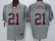 Mens New   Nfl San Francisco 49ers #21 Bush Lights Out Gray Elite Jersey Sn