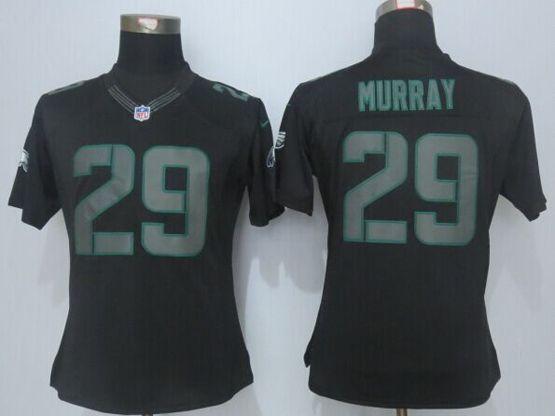 Women  New   Nfl Philadelphia Eagles #29 Murray Black (new Impact Limited) Jersey