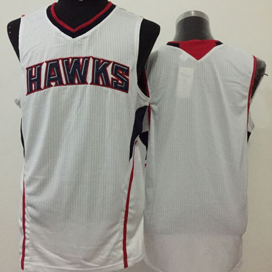 Mens Nba Atlanta Hawks Blank White Jersey