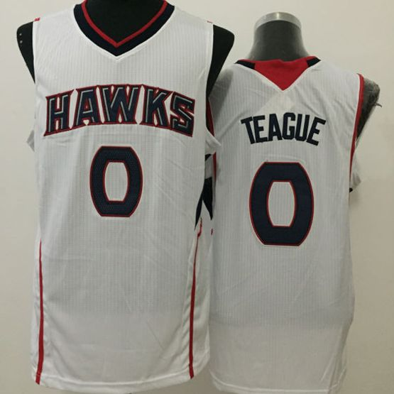 Mens Nba Atlanta Hawks #0 Teague White Jersey