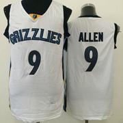 Mens Nba Memphis Grizzlies #9 Allen White Jersey(m)