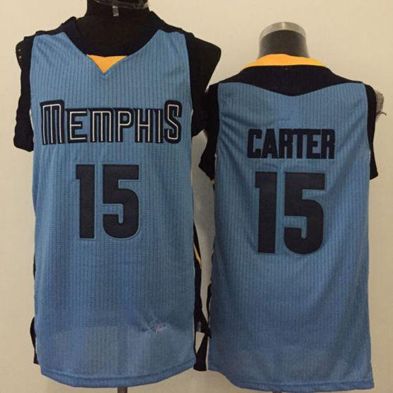 Mens Nba Memphis Grizzlies #15 Carter Blue Jersey(m)