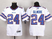 Mens Nfl Buffalo Bills #24 Stephon Gilmore White Elite Jersey(sn)