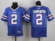 Mens Nfl Buffalo Bills #2 Dan Carpenter Light Blue Elite Jersey