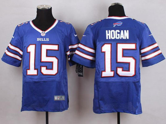 Mens Nfl Buffalo Bills #15 Chris Hogan Light Blue Elite Jersey