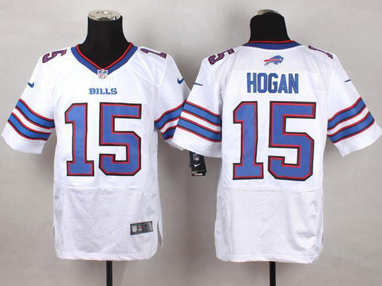 Mens Nfl Buffalo Bills #15 Chris Hogan White Elite Jersey