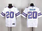 Mens Nfl Buffalo Bills #20 Corey Graham White Elite Jersey