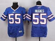 Mens Nfl Buffalo Bills #55 Jerry Hughes Light Blue Elite Jersey