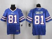 Mens Nfl Buffalo Bills #81 Marcus Easley Light Blue Elite Jersey