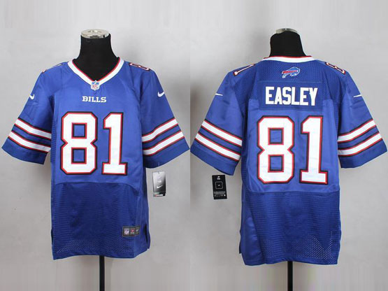 Mens Nfl Buffalo Bills #81 Marcus Easley Light Blue Elite Jersey