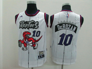 Youth Nba Toronto Raptors #10 Derozan White Jersey