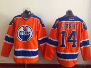 Mens nhl edmonton oilers #14 eberle orange Jersey