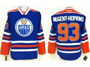 Mens nhl edmonton oilers #93 nugent-hopkins blue Jersey