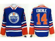 Mens nhl edmonton oilers #14 eberle blue Jersey