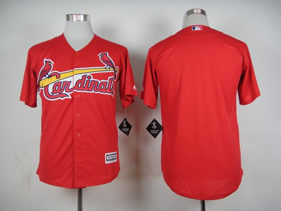 Mens mlb st.louis cardinals blank red 2015 new Jersey