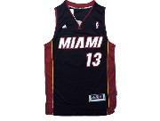 Mens Nba Miami Heat #13 Napier Black Revolution 30 Jersey (p)