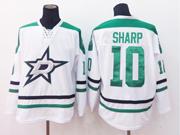 Mens reebok nhl dallas stars #10 sharp white Jersey