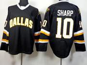 Mens reebok nhl dallas stars #10 sharp black Jersey