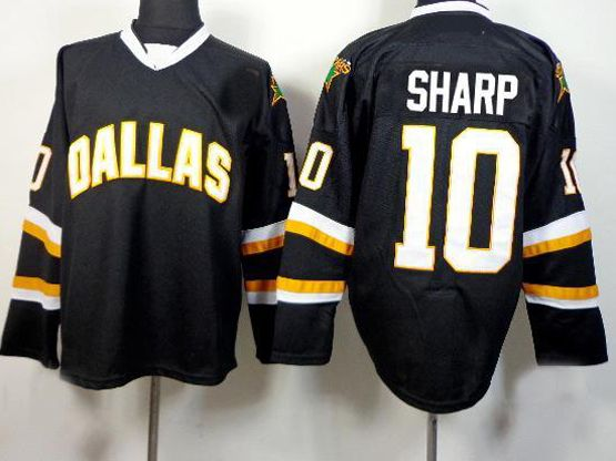 Mens reebok nhl dallas stars #10 sharp black Jersey
