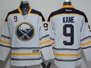 Mens Reebok Nhl Buffalo Sabres #9 Evander Kane White Jersey