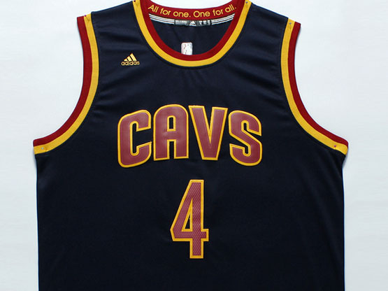 Mens Nba Cleveland Cavaliers #4 Shumpert Dark Blue Revolution 30 Jersey (p)