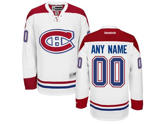 Reebok Montreal Canadiens White Away Premier Jersey