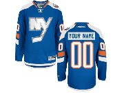 Nhl New York Islanders (custom Made) Blue (ny) Jersey