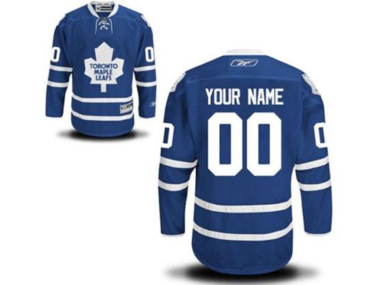 Mens Reebok Toronto Maple Leafs Royal Blue Home Premier Jersey