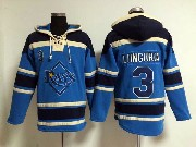 Mens Mlb Tampa Bay Rays #3 Longoria Light Blue Hoodie Jersey