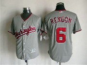 Mens Mlb Washington Nationals #6 Rendon Gray Jersey